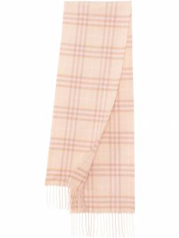 Burberry Kids шарф The Mini в клетку 8016588