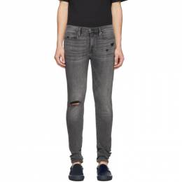 Frame Grey Jagger True Skinny Jeans 192455M18601207GB
