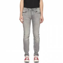 Frame Grey LHomme Skinny Jeans 192455M18601405GB