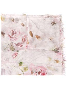 Faliero Sarti платок с цветочным принтом E192079Claudia