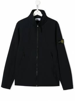 Stone Island Junior куртка с карманом-муфтой MO7116Q0130