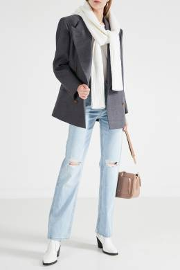 Голубые джинсы с прорезями Re/Done 1781155108