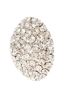 Массивные серьги круглой формы Alessandra Rich 3154901