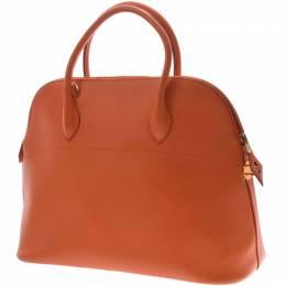 Hermes Orange Leather Bolide 37 Bag 229995