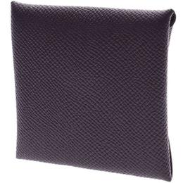 Hermes Leysin Leather Epsom Bastia Coin Purse 229976