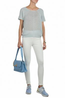Белые брюки скинни Patrizia Pepe 1748155822