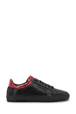 Черные сникерсы из углеродного волокна с кожаными вставками Billionaire 1668155421