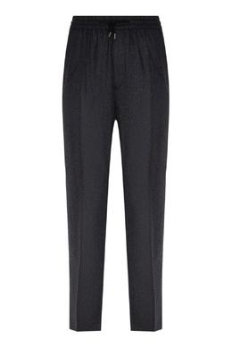 Серые брюки на кулиске Sandro 914155302