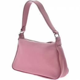Chanel Pink Leather Shoulder Bag 229124