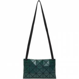 Bao Bao Issey Miyake Green Matte Lucent Crossbody Bag 192730M17000801GB
