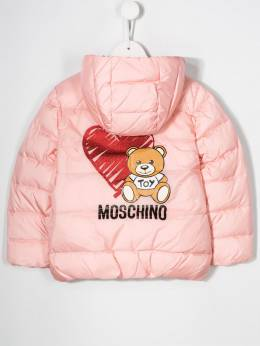 Moschino Kids - padded hooded coat 60QL3A00955563560000