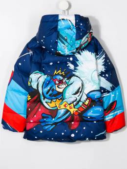 Dolce & Gabbana Kids - Superman print coat B6JG3TSM955396390000