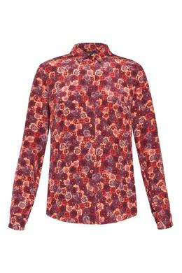 Рубашка с принтом «Анютины глазки» Alexander Terekhov 74155632