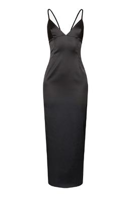 Платье-комбинация черного цвета Alexander Terekhov 74155670