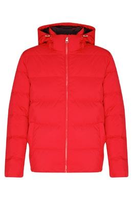 Красный пуховик со съемным капюшоном. Calvin Klein 596155905