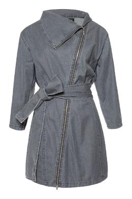 Короткое платье асимметричного кроя Alexander Terekhov 74155685