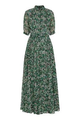 Длинное платье зеленого цвета Alexander Terekhov 74155683