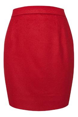 Короткая юбка красного цвета Alexander Terekhov 74155720
