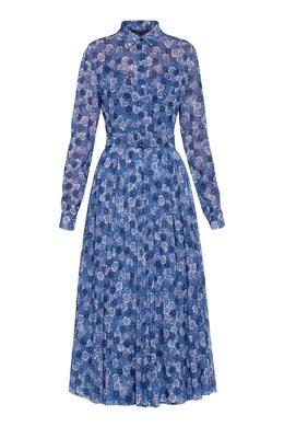 Синее платье с цветами Alexander Terekhov 74155656
