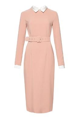 Розовое платье-футляр Alexander Terekhov 74155654