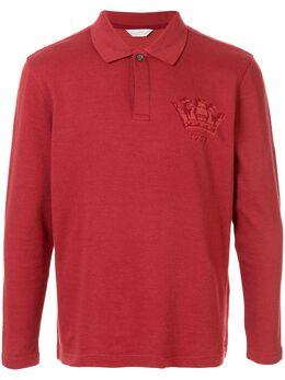 Gieves & Hawkes рубашка-поло с длинными рукавами G40H8E103075