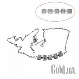 Серебряное колье с кристаллами, 40 Kenzo 1533025X40
