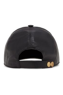 """Кожаная кепка с гербом """"Billionaire"""" 1668156226"""