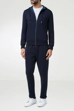"Темно-синий спортивный костюм с фирменными логотипами ""Billionaire"" 1668156195"