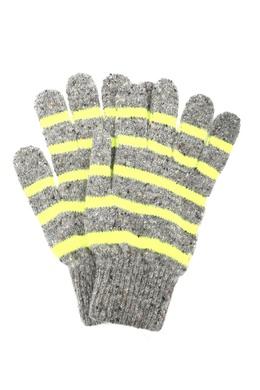 Серые перчатки в полоску Paul Smith 1924156863