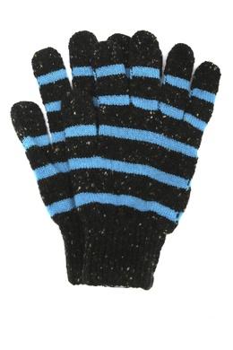 Перчатки в голубую полоску Paul Smith 1924156916