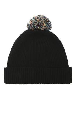 Черная шапка с помпоном Paul Smith 1924156913