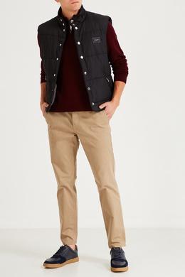 Стеганый черный жилет на кнопках Dolce&Gabbana 599156609