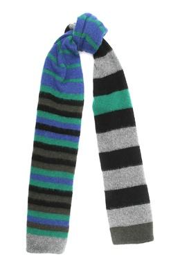 Шерстяной шарф с узором Paul Smith 1924156811