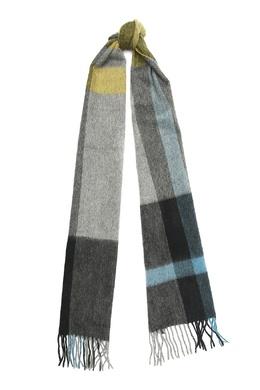 Серый шарф в клетку Paul Smith 1924156810