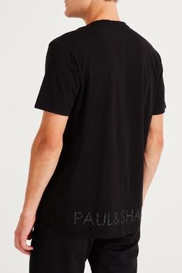 Серая футболка с акулой Paul & Shark 2321156520