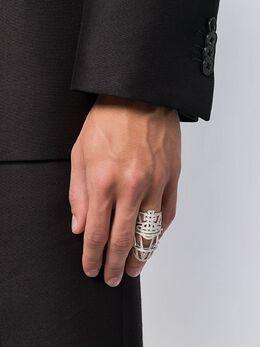 Vivienne Westwood массивное декорированное кольцо BR6259561BRASSSSM