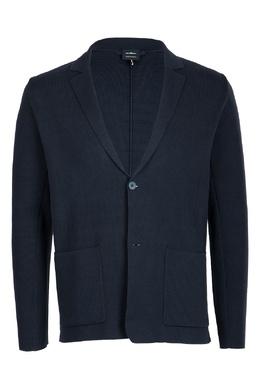 Приталенный серый пиджак Strellson 585157103