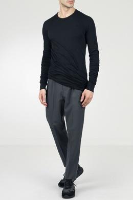 Черная длинная футболка Rick Owens 43157096