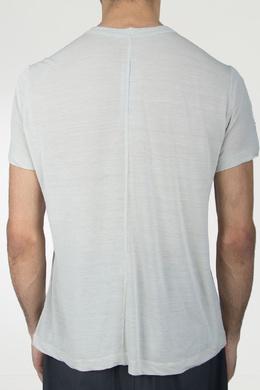 Свободная серая футболка Rick Owens 43157086