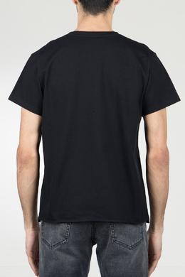 Классическая черная футболка Saint Laurent 1531157041