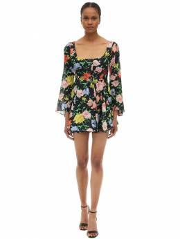 Платье Из Крепа С Принтом Alice Mccall 70IRTG002-QkxBQ0s1