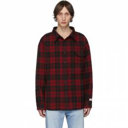 Vetements Red Over Your Hoodie Shirt 192669M19200103GB