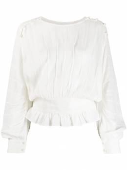 Isabel Marant Etoile плиссированная блузка HT100219A037E