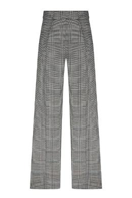 Широкие брюки в клетку принца Уэльского Alexandre Vauthier 356156949
