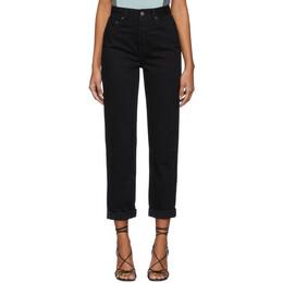 Grlfrnd Black The Devon Jeans 192966F06902105GB