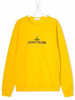 Stone Island Junior футболка с логотипом MO711661840T