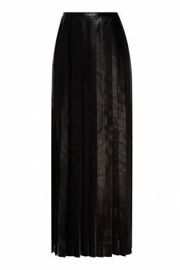Кожаная юбка плиссе Izeta 2576157293
