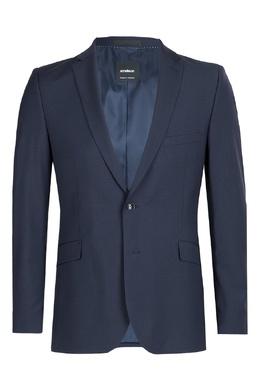 Классический темно-синий костюм-двойка Strellson 585157850