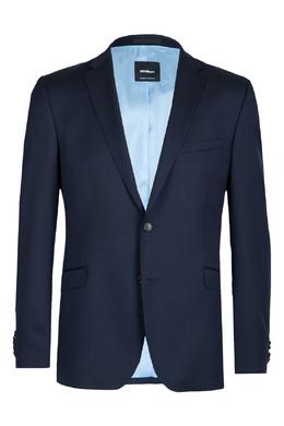 Синий шерстяной пиджак Strellson 585157844