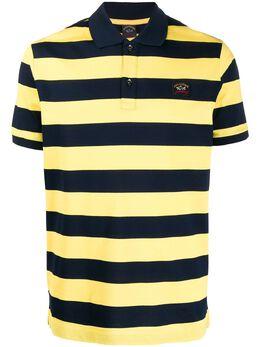 Paul & Shark полосатая рубашка-поло C0P1012
